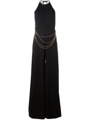 Chain belt jumpsuit Pierre Balmain. Цвет: чёрный