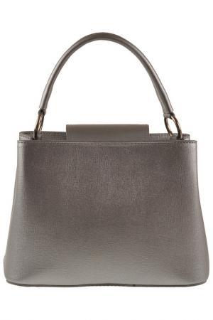 Сумка FLORENCE BAGS. Цвет: silver