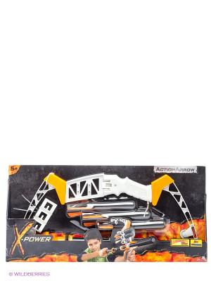 X-Power Арбалет, 55 см, 1/12 Simba. Цвет: белый, оранжевый