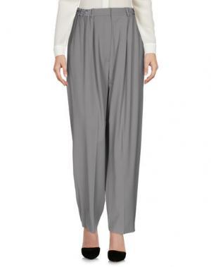 Повседневные брюки ACNE STUDIOS. Цвет: серый