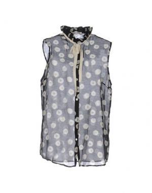 Pубашка SUOLI. Цвет: черный