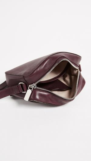Curved Top Cross Body Bag Shinola