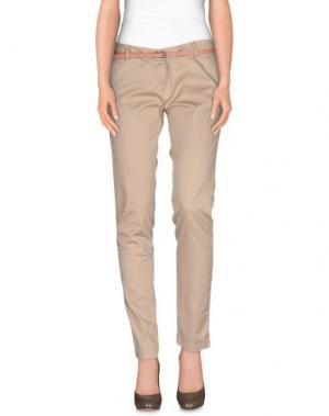 Повседневные брюки MAISON SCOTCH. Цвет: песочный