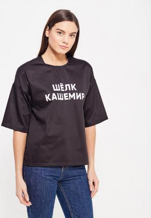 Блуза Asya Malbershtein. Цвет: черный