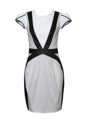 Платье Maria Rybalchenko. Цвет: черно-белый