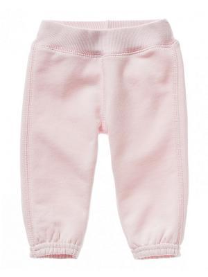 Брюки United Colors of Benetton. Цвет: розовый, бледно-розовый, кремовый, молочный, сиреневый