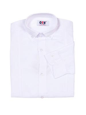 Рубашка M-BABY. Цвет: белый