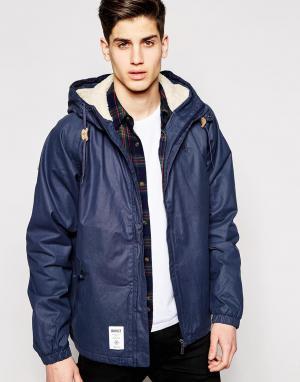Addict Куртка Frontline. Цвет: темно-синий