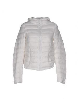 Куртка DUCK FARM. Цвет: белый