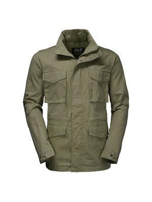 Куртка FREEMONT FIELDJACKET Jack Wolfskin. Цвет: оливковый