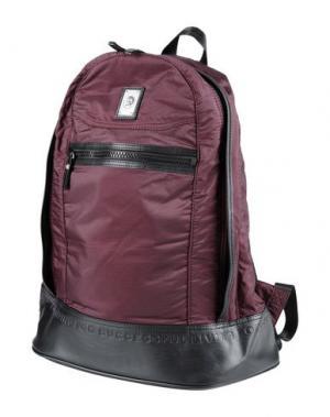 Рюкзаки и сумки на пояс DIESEL. Цвет: баклажанный