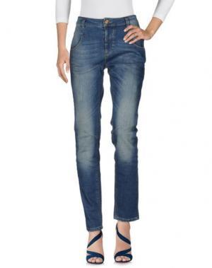 Джинсовые брюки MOS MOSH. Цвет: синий