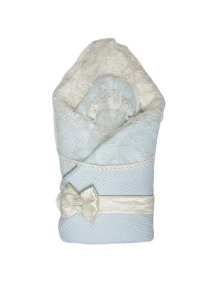 Конверт-одеяло Жемчужинка Сонный гномик. Цвет: голубой
