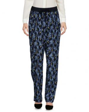 Повседневные брюки ODEEH. Цвет: грифельно-синий