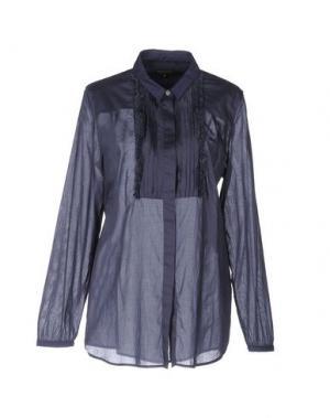 Pубашка MALÌPARMI. Цвет: синий