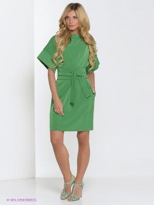 Платье Культ платья BRACEGIRDLE. Цвет: зеленый