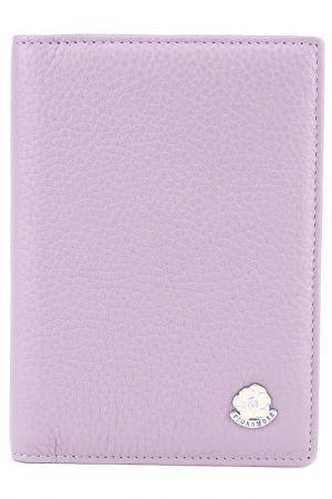 Обложка на паспорт Fiora More. Цвет: фиолетовый