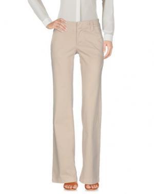 Повседневные брюки JAMES PERSE STANDARD. Цвет: бежевый