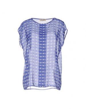 Блузка LOU LONDON. Цвет: ярко-синий