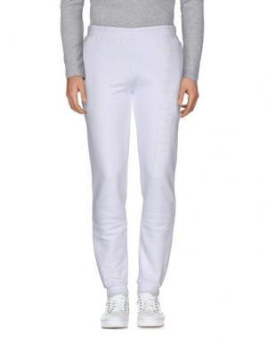 Повседневные брюки COTTWEILER. Цвет: белый