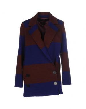 Пальто .TESSA. Цвет: баклажанный