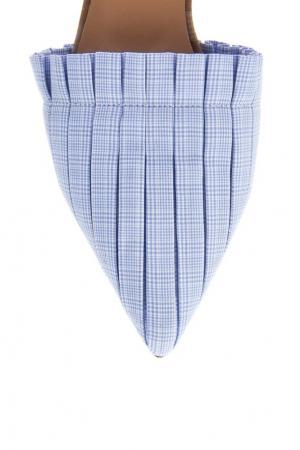 Туфли с текстильной отделкой Ruban. Цвет: none