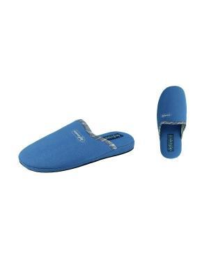 Тапочки De Fonseca. Цвет: синий