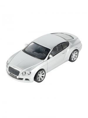 Машинка Bentley Continental GT, Серебро (1:43) (PS-0616407-S) Pit Stop. Цвет: серебристый