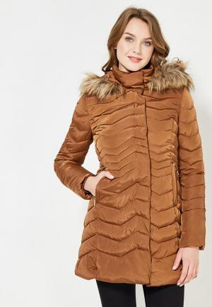 Куртка утепленная Motivi. Цвет: коричневый