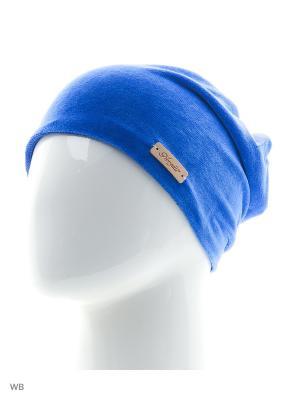 Шапка Noryalli. Цвет: голубой