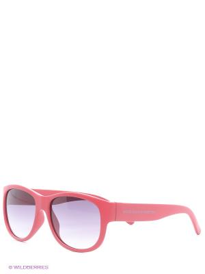 Солнцезащитные очки BB 592 04 United Colors of Benetton. Цвет: розовый