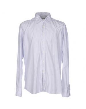 Pубашка BEVILACQUA. Цвет: светло-серый