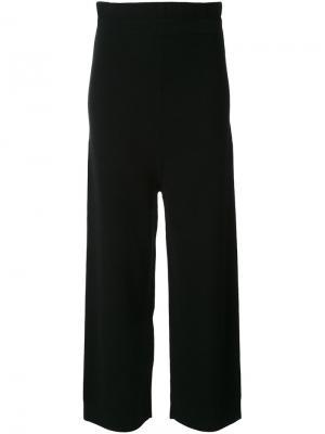 Широкие брюки Astraet. Цвет: чёрный