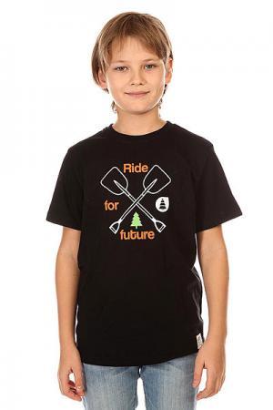 Футболка детская  Shovel Black Picture Organic. Цвет: черный