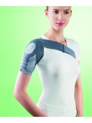 Бандаж плечевой с силиконовой вставкой арт. 2970, ОРРО OppO Medical Inc.. Цвет: серый
