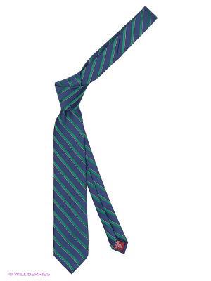Галстук MONDIGO. Цвет: темно-синий, зеленый