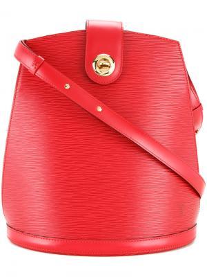 Cluny shoulder bag Louis Vuitton Vintage. Цвет: красный