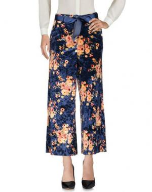 Повседневные брюки MICHELA MII. Цвет: синий