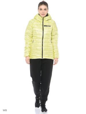 Куртка TERREX AGRAVIC DOWN JACKET Adidas. Цвет: желтый, черный
