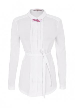 Блуза LO. Цвет: бежевый