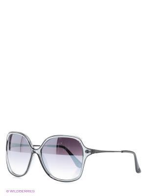 Солнцезащитные очки United Colors of Benetton. Цвет: серо-голубой