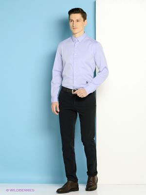 Рубашка Trussardi. Цвет: голубой