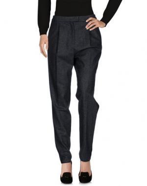 Повседневные брюки GIAMBATTISTA VALLI. Цвет: свинцово-серый