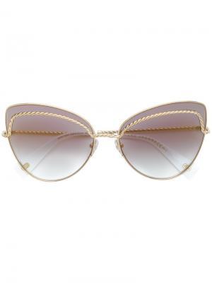 Солнцезащитные очки 255/S Marc Jacobs Eyewear. Цвет: металлический