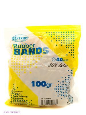 Резинки для денег 100 г. Centrum. Цвет: белый