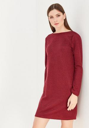 Платье Clabin. Цвет: бордовый