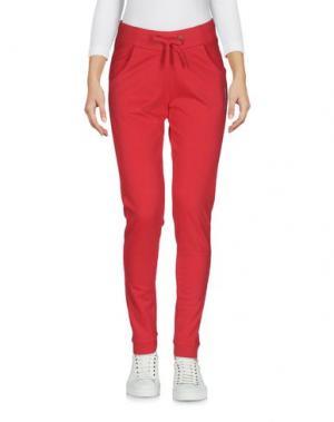 Повседневные брюки PENN-RICH WOOLRICH (PA). Цвет: красный