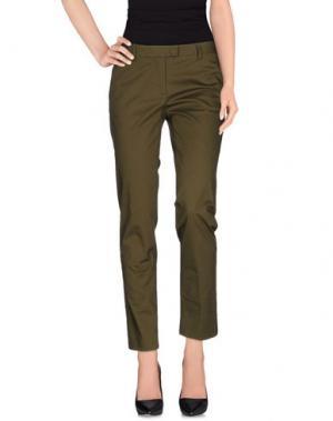 Повседневные брюки ATELIER ARCHIVIO. Цвет: зеленый-милитари