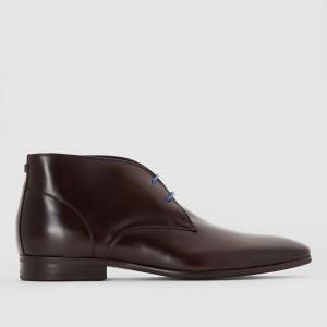 Ботинки на шнуровке Javoy AZZARO. Цвет: темный каштан