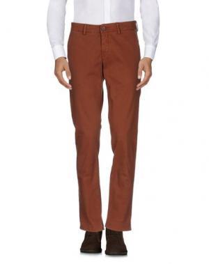 Повседневные брюки MAISON CLOCHARD. Цвет: коричневый